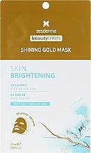 Parfumuri și produse cosmetice Mască de aur - SesDerma Laboratories Beauty Treats Shining Gold Mask