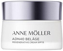 Parfumuri și produse cosmetice Cremă pentru pielea normală și combinată - Anne Moller ADN40 Belage Regenerative Cream SPF15