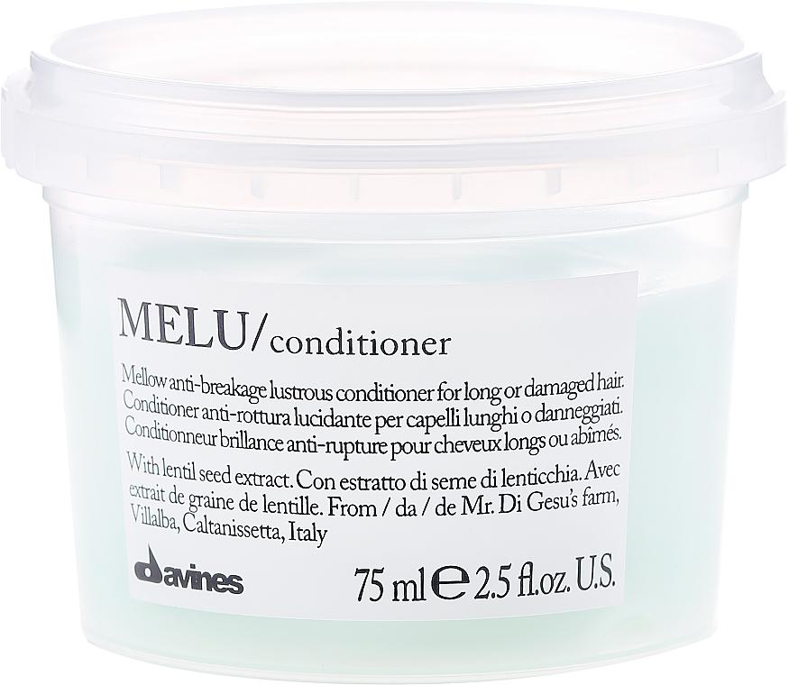 Balsam pentru părul fragil - Davines Melu Conditioner Anti-Rottura Lucidante — Imagine N1