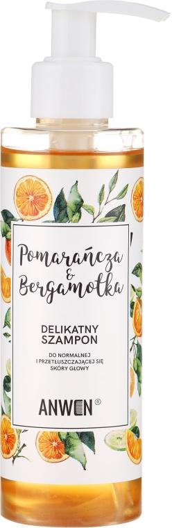 Șampon pentru păr normal și gras - Anwen Orange and Bergamot Shampoo — Imagine N1
