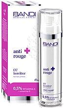Parfumuri și produse cosmetice CC cremă anticuperoză cu vitamina E și K - Bandi Medical Expert Anti Rouge CC Capillary Corrector