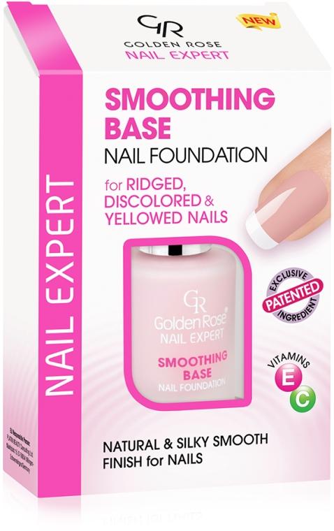 Bază de nivelare pentru unghii - Golden Rose Nail Expert Smoothing Base Nail Foundation
