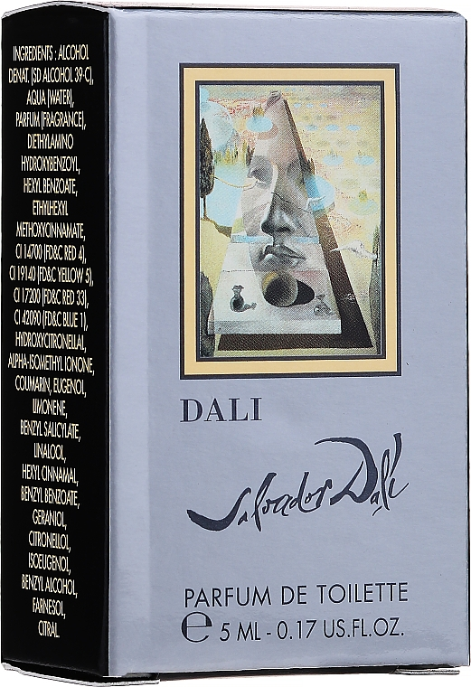 Salvador Dali Salvador Dali - Apă de parfum (mini) — Imagine N2