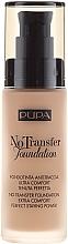 Parfumuri și produse cosmetice Primer pentru față - Pupa No Transfer Foundation