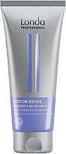 Parfumuri și produse cosmetice Mască pentru părul deschis - Londa Professional Color Radiance Blonde & Silver Mask