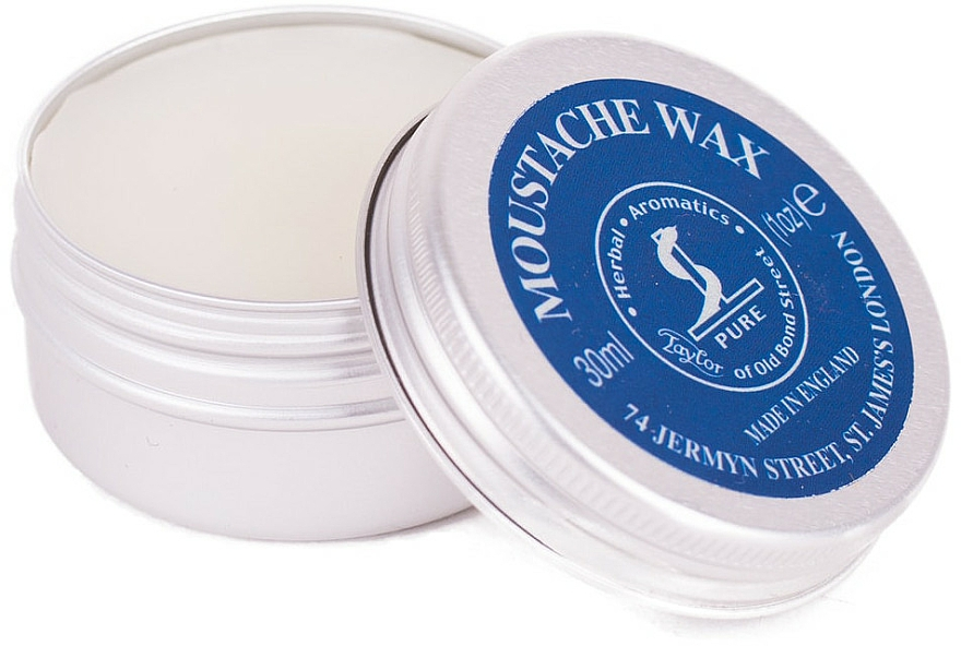 Ceară pentru mustăți - Taylor of Old Bond Street Moustache Wax Tin — Imagine N3