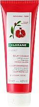 Parfumuri și produse cosmetice Cremă de păr - Klorane Color Enhancing Leave-In Cream With Pomegranate