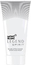 Parfumuri și produse cosmetice Montblanc Legend Spirit - Balsam după ras