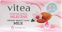 Parfumuri și produse cosmetice Săpun-cremă cu ulei de migdale - Vitea Cream Soap