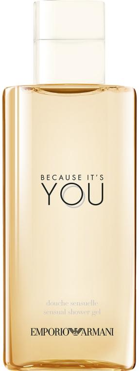 Giorgio Armani Because It's You - Gel de duș — Imagine N2