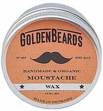 Parfumuri și produse cosmetice Ceară pentru mustăți - Golden Beards Moustache Wax