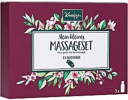 Parfumuri și produse cosmetice Set - Kneipp Massage Set (b/oil/3x20 ml)