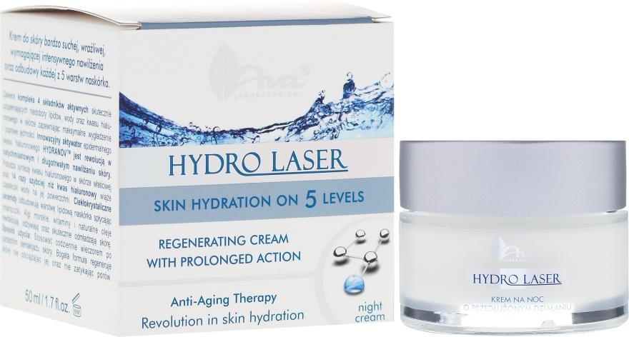 Cremă regenerantă de noapte - Ava Laboratorium Hydro Laser Cream — Imagine N1