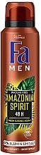 """Parfumuri și produse cosmetice Deodorant-spray """"Amazonia Spirit"""" - Fa Men"""