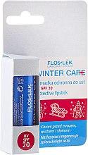 Parfumuri și produse cosmetice Balsam protector pentru buze SPF20 - Floslek Winter Care Protective Lipstick