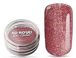 Parfumuri și produse cosmetice Pudră pentru unghii - Silcare So Rose So Gold