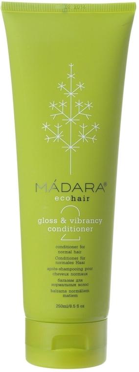 Balsam de păr - Madara Cosmetics Gloss & Vibrance Conditioner — Imagine N1