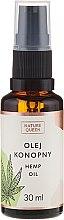 Parfumuri și produse cosmetice Ulei cu extract din semințe de cânepă - Nature Queen Hemp Oil