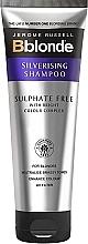Parfumuri și produse cosmetice Șampon din argint, fără sulfați - Jerome Russell Bblonde Silverising Sulphate Free Brightening Shampoo