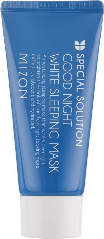 Mască iluminatoare cu extract de lavandă - Mizon Good Night White Sleeping Mask (Mini) — Imagine N2