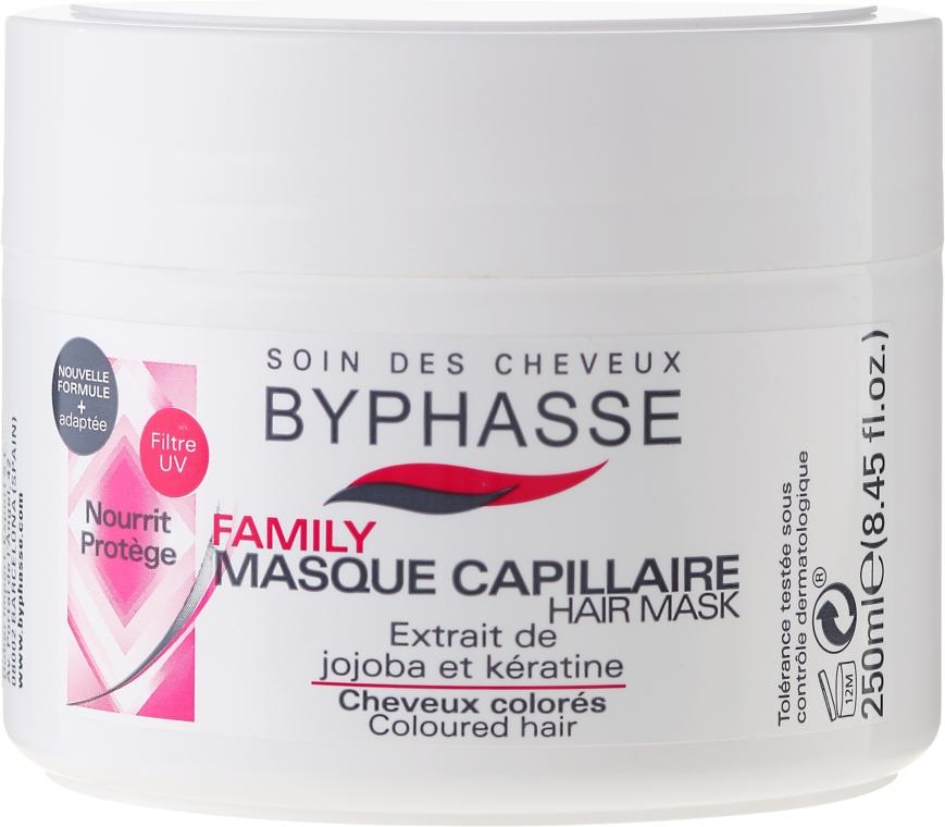 Mască pentru părul vopsit - Byphasse Family Coloured Hair Mask — Imagine N1