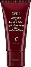 Parfumuri și produse cosmetice Balsam pentru păr vopsit - Oribe Conditioner For Beautiful Color (mini)