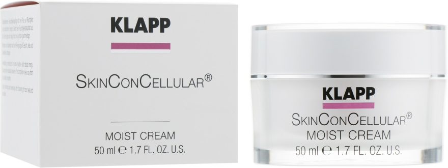 Cremă de față - Klapp Skin Con Cellular Moist Cream — Imagine N2