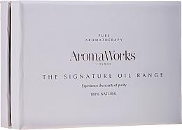 Parfumuri și produse cosmetice Set - AromaWorks Signature Oil Range (oil/4x10ml)