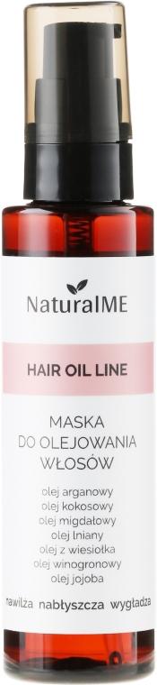Mască-spray pentru păr deteriorat - NaturalME Hair Oil Line