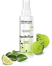 """Parfumuri și produse cosmetice Spray parfumat pentru corp """"Lime și bergamotă"""" - Allvernum Allverne Nature's Essences Body Mist"""