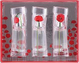 Parfumuri și produse cosmetice Kenzo Flower by Kenzo - Set (edt 3 x 15 ml)