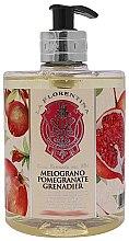 "Parfumuri și produse cosmetice Săpun lichid ""Rodie"" - La Florentina Pomegranate Liquid Soap"