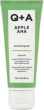 Parfumuri și produse cosmetice Gel exfoliant pentru față - Q+A Apple AHA Exfoliating Gel