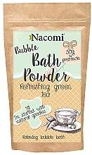 "Parfumuri și produse cosmetice Pulbere pentru baie ""Ceai verde revigorant"" - Nacomi Refreshing Green Tea Bath Powder"