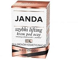 Parfumuri și produse cosmetice Cremă-lifting pentru pleoape - Janda