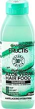 "Parfumuri și produse cosmetice Șampon hidratant ""Aloe Vera"" - Garnier Fructis Aloe Vera Hair Food Shampoo"
