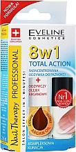 Parfumuri și produse cosmetice Tratament extrem de eficient pentru unghiile 8in1 - Eveline Cosmetics Nail Therapy