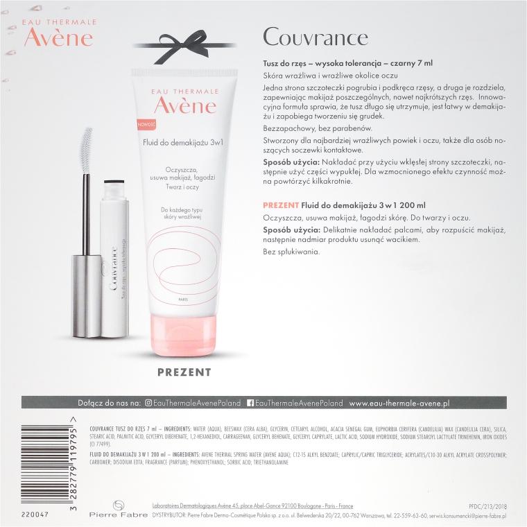 Set - Avene Couvrance (remover/200ml + mascara/7ml) — Imagine N4
