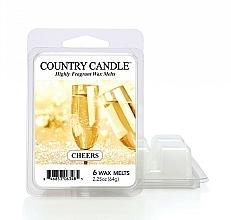 Parfumuri și produse cosmetice Ceară pentru lampă aromatică - Country Candle Cheers Cheesecake Wax Melts