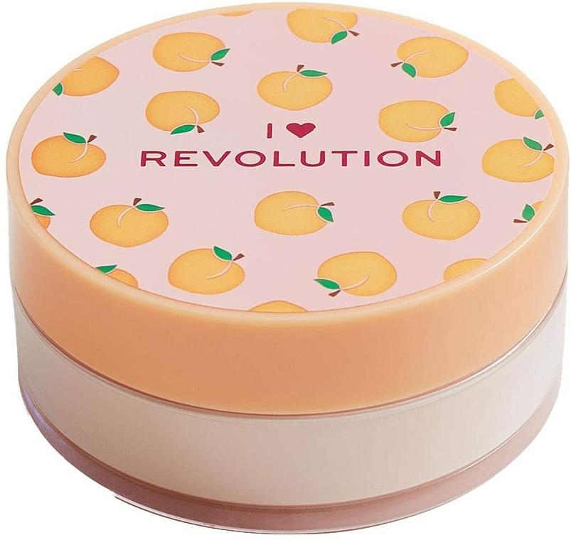Pudră de față - I Heart Revolution Loose Baking Powder Peach