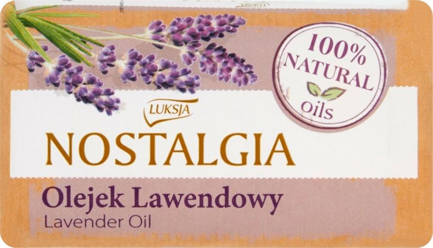 """Săpun """"Ulei de lavandă"""" - Luksja Nostalgia Lavender Oil Soap — Imagine N1"""