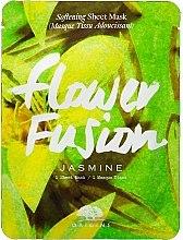 Parfumuri și produse cosmetice Mască din țesătură cu iasomie pentru față - Origins Flower Fusion Jasmine Softening Sheet Mask