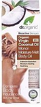 Parfumuri și produse cosmetice Ulei de corp - Dr. Organic Virgin Coconut Oil Moisture Melt Body Oil