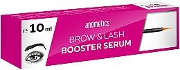 Parfumuri și produse cosmetice Ser pentru creșterea sprâncenelor și a genelor - Andmetics Brow & Lash Booster Serum