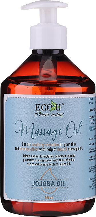 Ulei de masaj - Eco U Jojoba Massage Oil