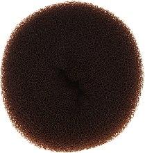 Parfumuri și produse cosmetice Burete pentru coc, 15 x 6,5 cm, maro - Ronney Professional Hair Bun 053