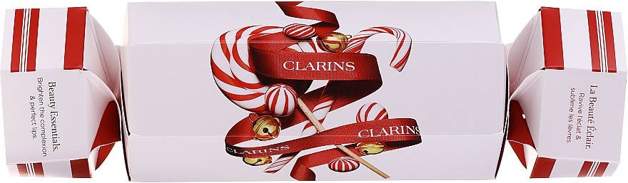 Set - Clarins Holiday Beauty Cracker (balm/15ml + lip/gloss/12ml) — Imagine N4