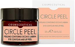 Parfumuri și produse cosmetice Cremă pentru zona ochilor și buzelor - Surgic Touch Circle Peel Eye Contour And Lip Peel