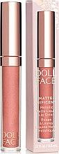 Parfumuri și produse cosmetice Ruj lichid mat - Doll Face Matte Metallic Liquid Lip Color