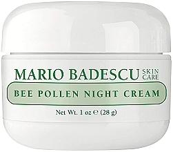Parfumuri și produse cosmetice Cremă de noapte cu polen de albine - Mario Badescu Bee Pollen Night Cream